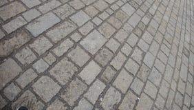 Brukowych kamieni tło Zdjęcie Stock