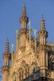 BRUKSELA, BELGIA, królewiątko dom lub chleba dom, Obrazy Royalty Free