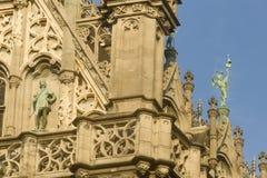 BRUKSELA, BELGIA, królewiątko dom lub chleba dom, Obraz Royalty Free