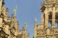 BRUKSELA, BELGIA, królewiątko dom lub chleba dom, Zdjęcie Royalty Free