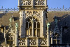 BRUKSELA, BELGIA, królewiątko dom lub chleba dom, Zdjęcia Royalty Free