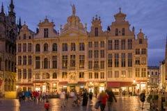 Bruksela, Belgia Uroczysty miejsce obraz royalty free