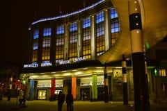 Brukselska centrali stacja Obraz Stock