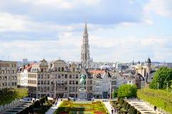 Brukselska linia horyzontu Zdjęcia Royalty Free