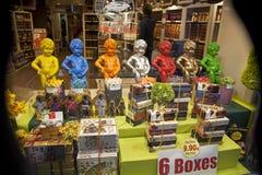 Brukselski czekolada rynek obraz royalty free