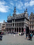 Brukselski Belgium Brussels urząd miasta Zdjęcia Royalty Free