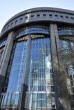 Brukselski historyczny miasto i Europejski parlamentarny miasto zdjęcia stock