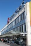 Brukselski lotnisko międzynarodowe Zdjęcie Royalty Free