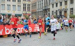 Brukselski maraton Obraz Royalty Free