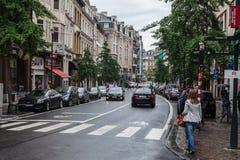 Brukselski W centrum Belgia Zdjęcie Royalty Free