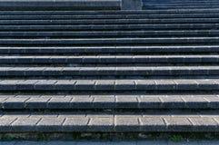 Brukujący betonowi progi tworzy ciekawić tupoczą zdjęcia stock