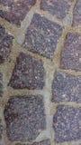 Brukujący kamienny Drogowy tło obraz stock
