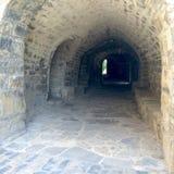 Brukujący tunel zdjęcie stock