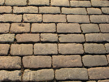 Brukuje kamienną ścieżkę Fotografia Royalty Free