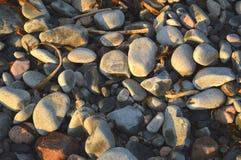 Brukuje kamienną tło teksturę Obrazy Stock