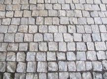Brukuje kamienną tło teksturę Obrazy Royalty Free