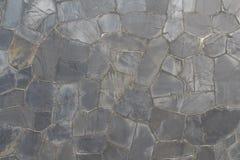 Brukuje kamiennej ściany teksturę Obraz Stock
