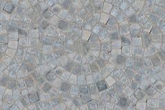 Brukuje kurenda wzoru bloku bruku tekstury bezszwowego tło Odgórny widok obraz stock