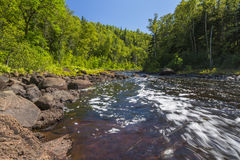 Brule River Royalty Free Stock Images