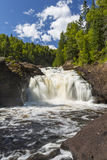 Brule River Upper Falls Royalty Free Stock Photos