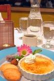 brulee десерт creme Стоковое Изображение RF