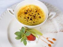 brulee la десерта creme carte стоковые изображения rf