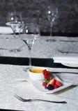 Brulee room - heerlijk dessert Royalty-vrije Stock Afbeelding