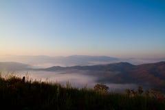 Brume, brouillard Images libres de droits