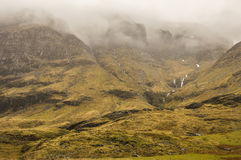 Brume dans Glencoe Photos stock