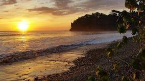 Brume de coucher du soleil Photos stock
