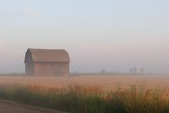 Brume de matin Photographie stock