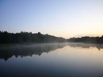 Brume de matin Image libre de droits