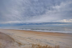 Brume de plage - rêveuse Images stock