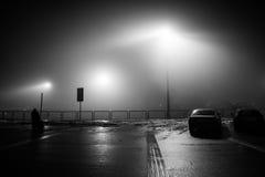 Brume isolée d'aéroport Photo stock