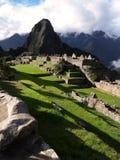 Brumes de Machu Picchu Photo libre de droits