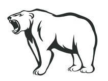 Brumma björnen Arkivbild