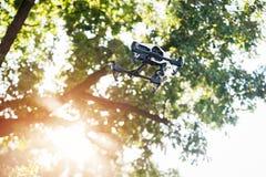 Brummen mit Digitalkamera Selektiver Fokus Lizenzfreies Stockfoto