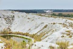 Brummen quadrocopter Phantom-PROfachmann stockfotografie