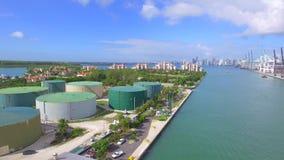 Brummen-Video-Fisher Island Miami-Strand stock video footage