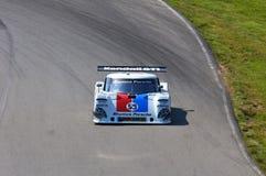 Brumos Porsche que compite con Imágenes de archivo libres de regalías