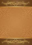 Brun bakgrund Royaltyfri Bild