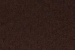 Brun bakgrund eller textur för mörkerpappersyttersida Arkivfoto