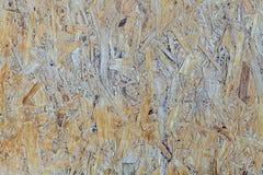 Brun beige woodboardbakgrund Royaltyfri Fotografi