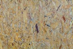 Brun beige woodboardbakgrund Arkivbilder