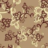 Brun blommamodell Royaltyfria Bilder