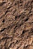 Brun bruten kiselsten Arkivbild