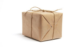 brun bunden packerad Royaltyfri Fotografi