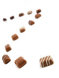 Brun chocolat Photographie stock libre de droits