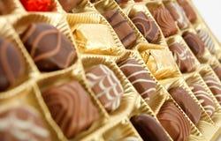 Brun chocolat Image libre de droits