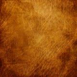 brun closeuplädertextur Royaltyfria Bilder